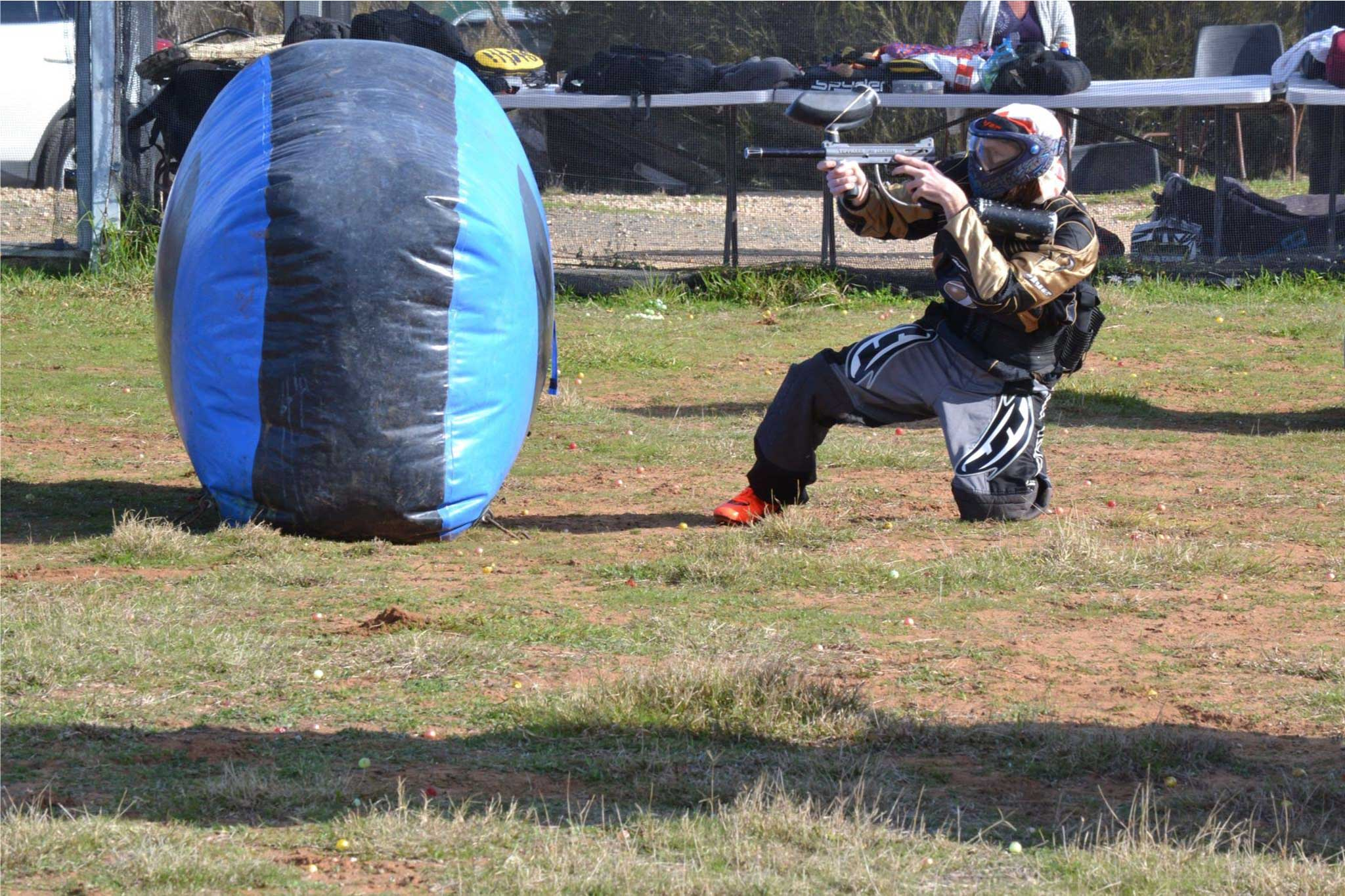 Group tournament lets play paintball