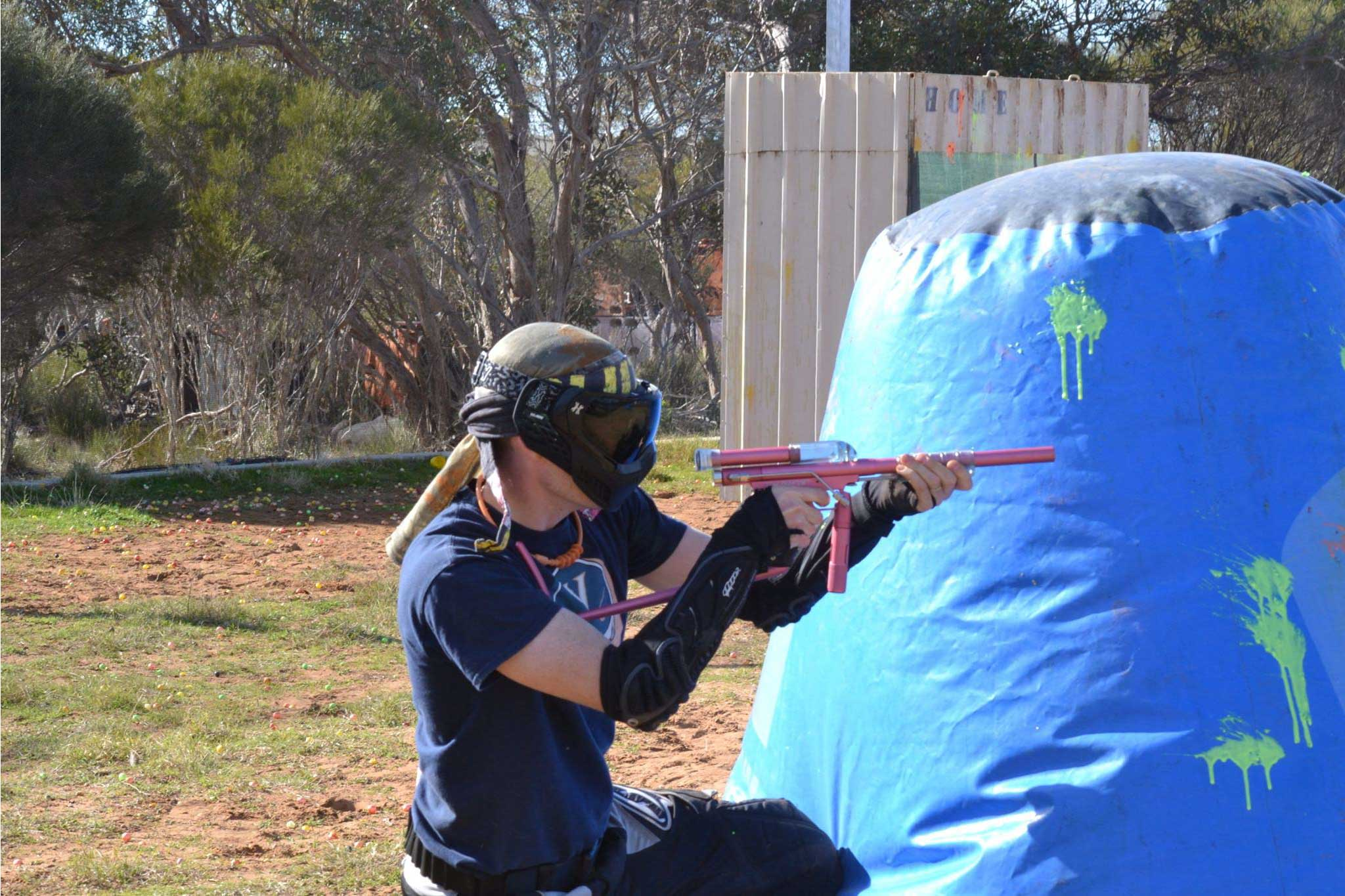 Group tournament paintball Hartley, Adelaide
